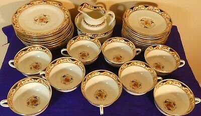 Large Vintage Sutherland Imari Tea Set 6 Trios, Milk Jug, Sugar Bowl + Spares • 40£