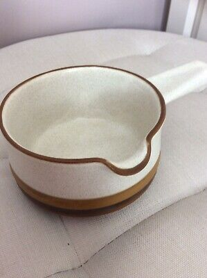 Denby Potters Wheel Gravy Boat IMMACULATE • 4£