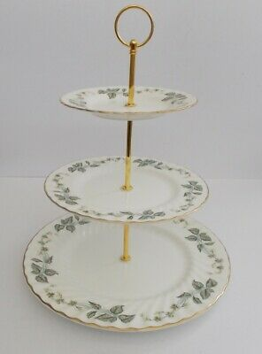Minton  Greenwich  Large 3 Tier Cake Stand. • 14.99£