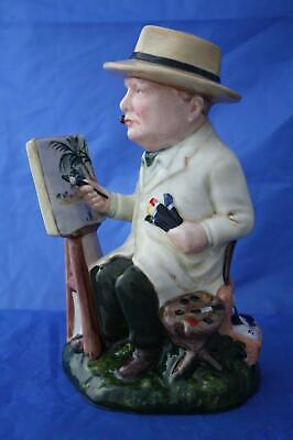Bairstow Manor Churchill Winston The Artist Figure Miami Beach 1946 - New • 139.95£