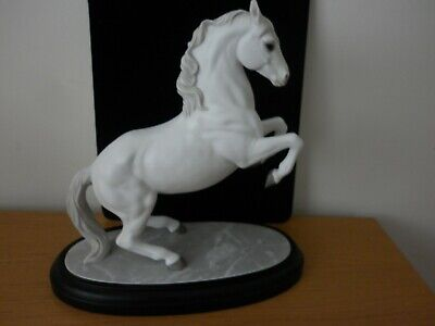 Lenox Porcelain 'Airs Above The Ground' Lippizaner Horse Sculpture 1990 • 49.99£