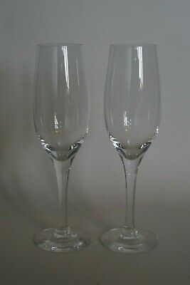 Pair Of  DARTINGTON Champagne Flutes • 14.95£