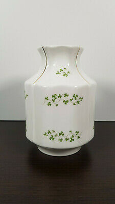 Vintage Vase  Royal Tara  Fine Bone China Made In Ireland Beautiful Clovers • 27.99£