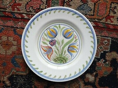 Heals Bristol Pottery Hand Painted Plate. C1950's • 9£