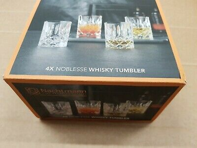 Nachtmann 89207 Noblesse Whisky Glasses Tumbler, Crystal, Clear • 19.99£