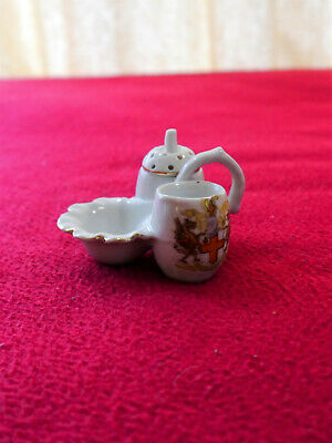 Gemma Vintage Crested Miniature City Of London China Pot And Stand • 5£