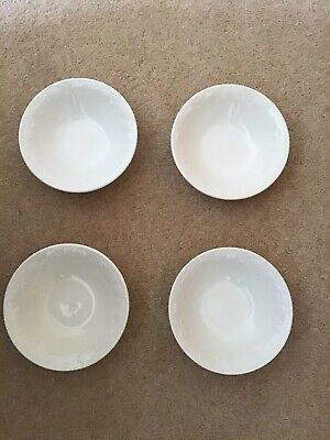 Bhs Lincoln Tableware Cereal/dessert Bowls X 4 • 10£