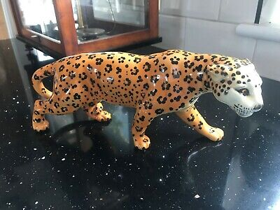 Rare Vintage Retired Beswick Leopard No 1082 Issued 1946 - 1975  • 75£