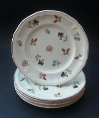 Five Villeroy And Boch Petite Fleur Side Plates • 17.99£