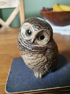 Collectable Poole Pottery Stoneware Little Owl Owlet Bird • 2.30£