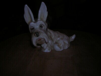 Hummel Figure Of A Scotty Dog 10 Cm Tall Small Nibble To Paw Ch49 To Base • 0.99£