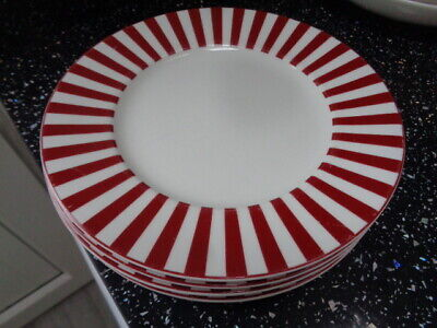 Marks And Spencer Ruby Salad Plates X 3 • 20£