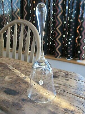 Glass Bell - Clear Glass - Beautiful! • 6.99£