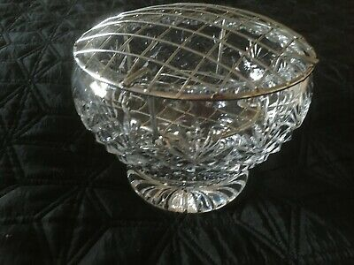 Royal Brierley Rose Bowl Ex.Condition Quite Old • 8.50£