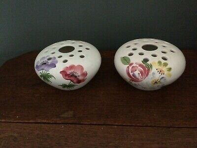 2 X Radford Hand Painted Posy Pots (Not Matching) Excellent Condition • 1.99£