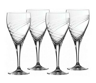 Royal Doultion Finsbury Four Wine Glasses Brand New In Original Box • 28£