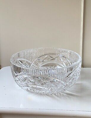 Beautiful Waterford Crystal/Cut Glass Bowl - Stamped • 10.50£