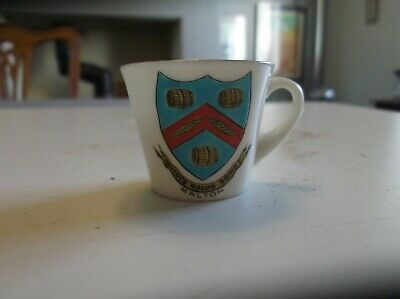 Vintage Clifton Crested China Cup Malton Crest • 7.50£