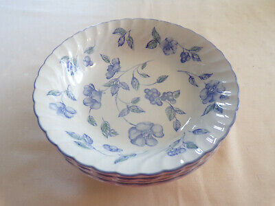 Bhs - Bristol Blue - 4 Cereal Bowls - More Items Listed • 9.99£