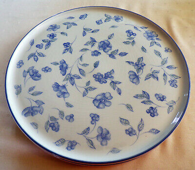 Bhs - Bristol Blue - 2 Gateau/cheese Platters - More Items Listed • 9.99£