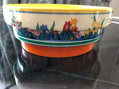 Clarice Cliff Stepped Bowl - Chloris Pattern Early 1930s • 160£