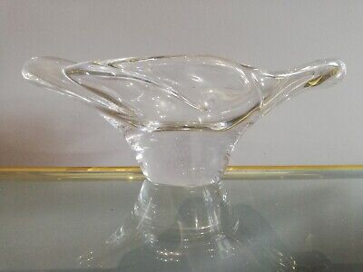 Daum Nancy Crystal French Dish • 175£