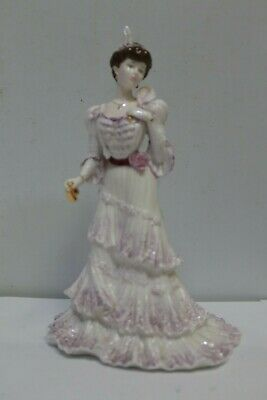 Coalport Golden Age Eugenie First Night At The Opera Figurine Limited - 204 • 14.95£