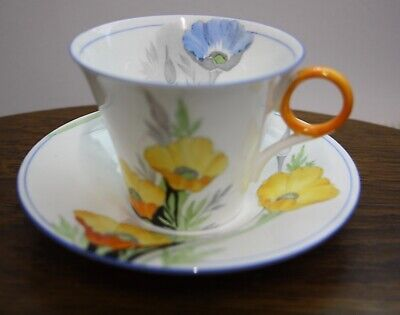 A Very Nice Art Deco Shelley Cup And Saucer. • 10£