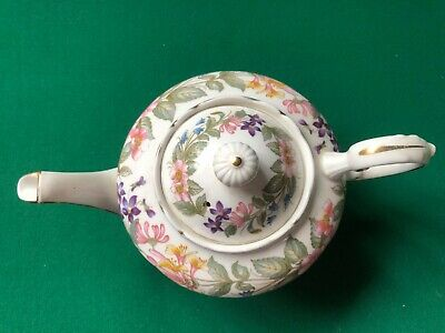 Paragon One Cup Tea Pot Country Lane Used Bone China • 10£