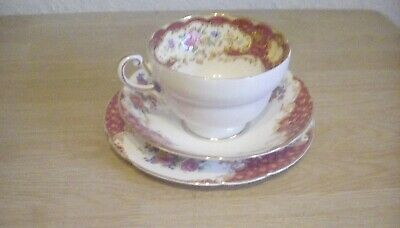 Paragon Fne Bone China Cup Saucer And Teaplate  • 4.99£