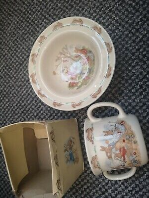Bunnykins Royal Doulton Bowl And Cup Boxed Good Condition  • 5.50£