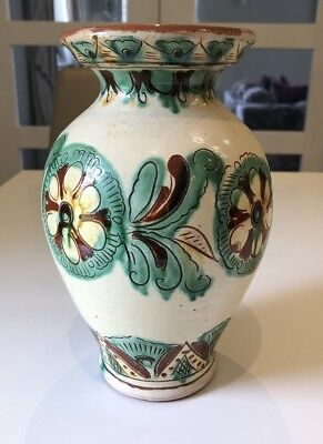 Beautiful Terracotta Pottery Vase, Lovely Colours • 4£