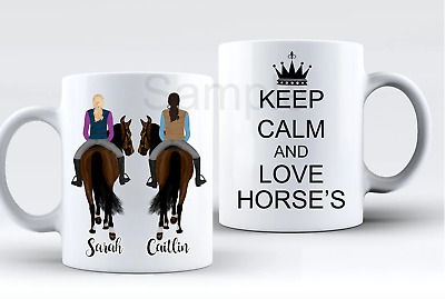HORSES Personalised Best Friend Mug (HAVE YOUR OWN VERSE OR SAYING) • 7.99£