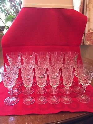 A Quantity (17) Of Galway Lead Cut Crystal Glasses In The 'Old Galway' Style • 39.99£