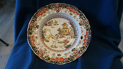 Antique Masons Ironstone Japan Pattern Large Salad Bowl / Plate 10.5   Wide RARE • 9.99£