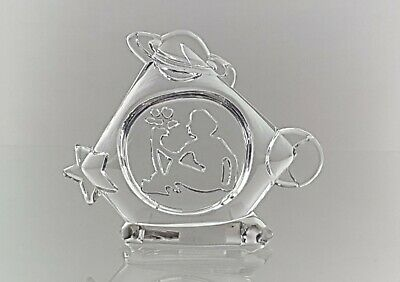Vintage 24% Lead Crystal From  EVITA  Naked Mother Nature Ornament • 14.95£