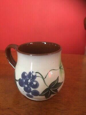 Holkam Hall Small Handled Pot - Signed Cyril Ruffles. • 15£