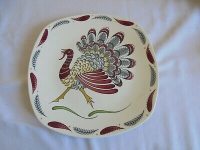Midwinter Stylecraft Large Plate  Gay Gobbler  Designed By Jessie Tait  • 25£