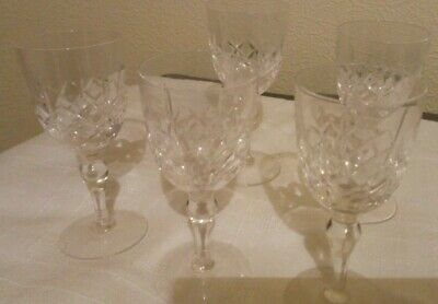 Sherry Glass - Stuart Lead Crystal - Collection Of 5 • 9.99£