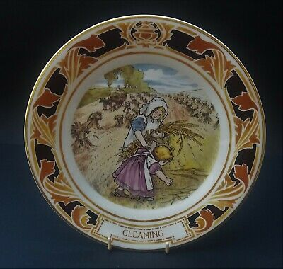 Pretty Royal Doulton Old Charing Cross Hospital Plate - Gleaning • 5.50£