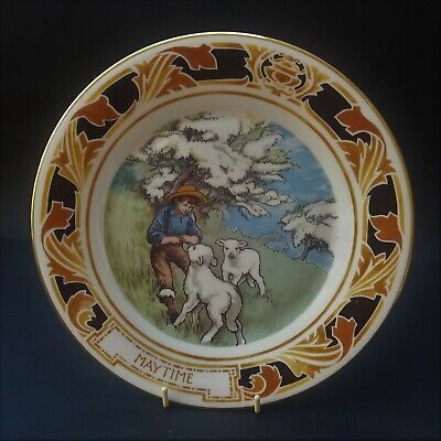 Pretty Royal Doulton Old Charing Cross Hospital Plate - Maytime • 5.50£