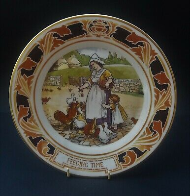 Pretty Royal Doulton Old Charing Cross Hospital Plate - Feeding Time • 5.50£