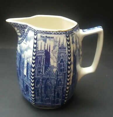 Ringtons/wade Blue And White Cathedral Jug • 8.99£