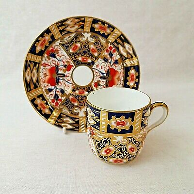 Davenport Imari Coffee Cup And Saucer Pattern Number 2614 Antique  • 30£