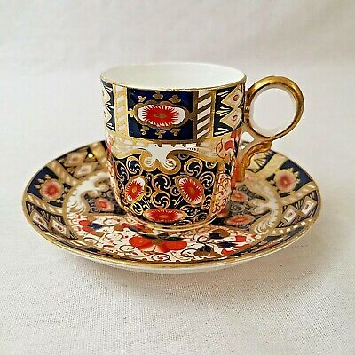 Davenport Imari Small Coffee Can And Saucer Pattern Number 2614 Antique  • 30£