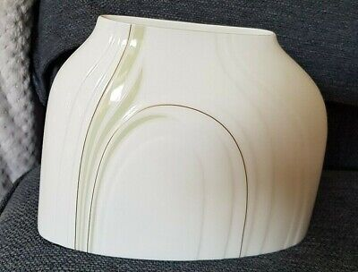 Royal Doulton Impressions By Gerald Gulotta Cypress Vase Low 1982 • 4.95£