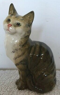 Beswick Cat 1030 Green & Brown -Excellent Condition • 9.99£