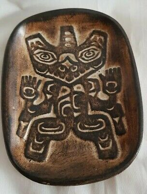 Ruth Meechan Canadian Studio Pottery Haida Bear Handmade Of Bc Clay Canada... • 12£