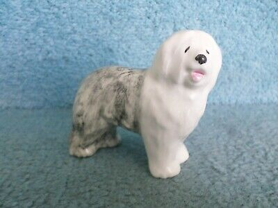 Poole 7.5cm Tall 48.7g Hand Painted Pottery Sheepdog Figurine (BARGAIN) • 7.99£