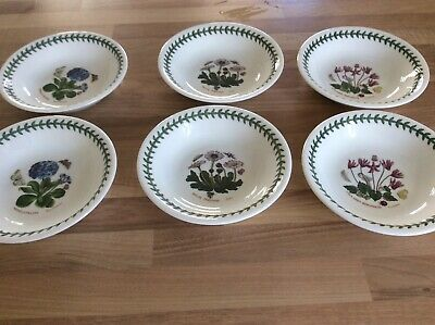 Portmeirion 7  Six Bowls NEW IN BOx🎀🎀🎀 • 20£
